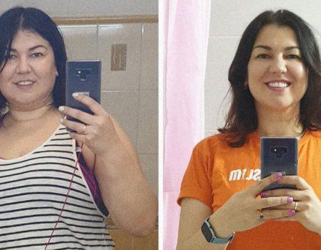 Olga Zhilova despre pierderea în greutate