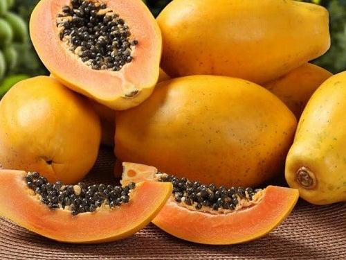 va ajuta papaia în pierderea în greutate