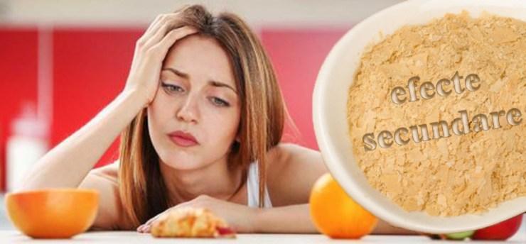 drojdia poate opri pierderea în greutate)