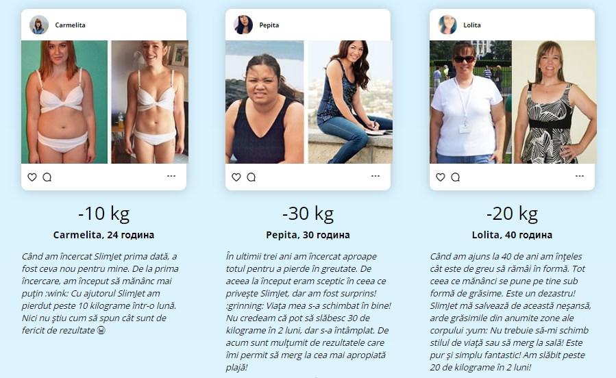 Pierdere în greutate de 40 de kilograme în 4 luni)
