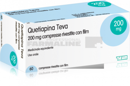 Quetiapina Accord 200 mg x 60 comprimate cu eliberare prelungita