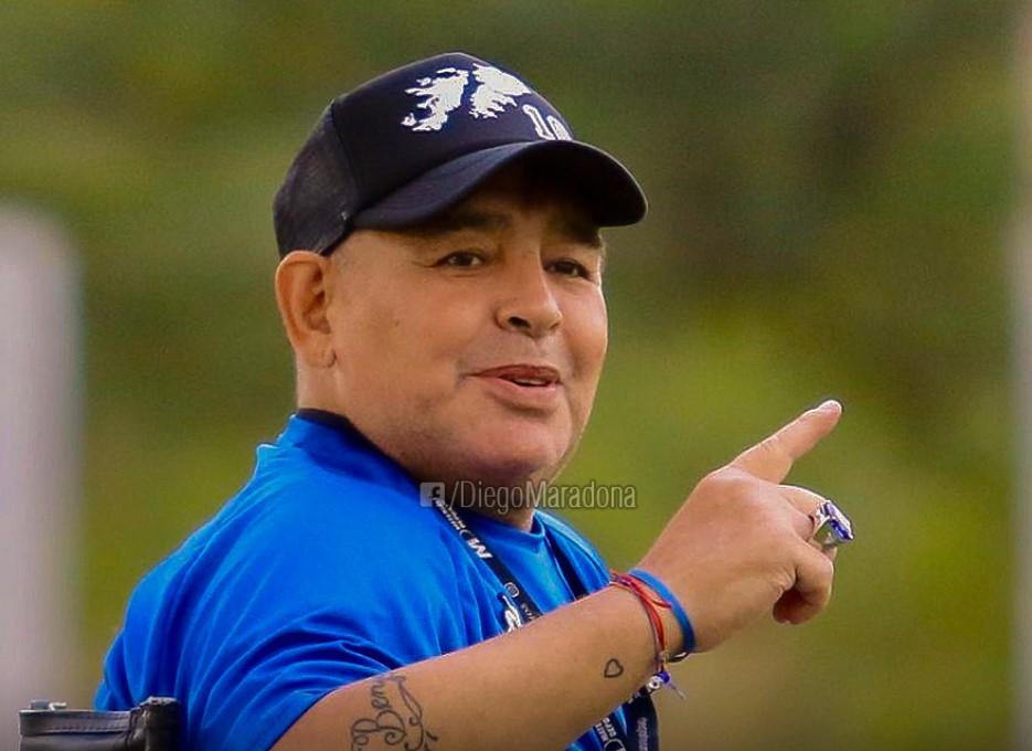 Maradona a slabit 11 kilograme
