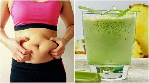 5 sucuri care elimină grăsimea abdominală - Doza de Sănătate