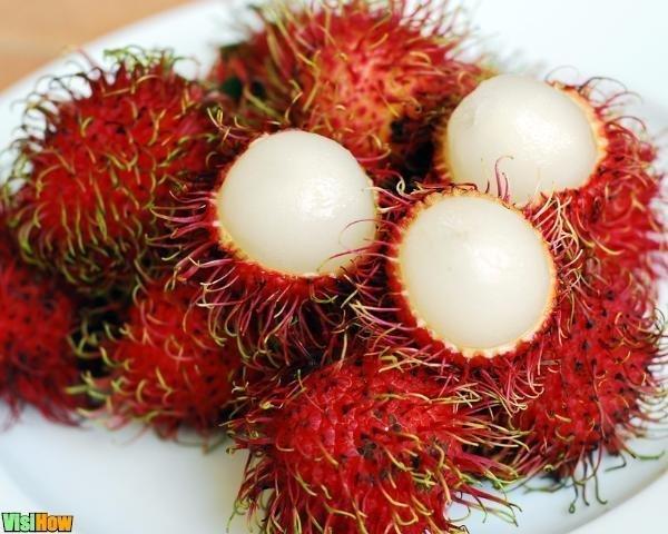 Rambutan fructe, proprietăți sănătoase, calorii. Rambutan gust - Ceai