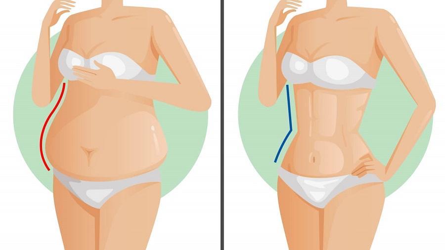 cum să pierzi grăsimea intestinală