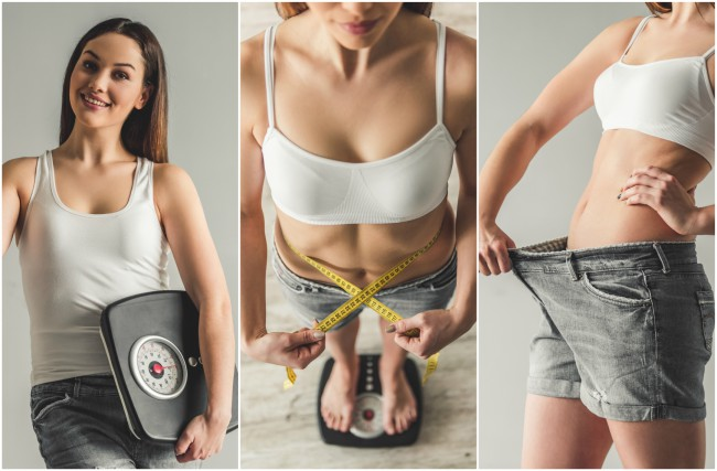 corpul nu va pierde în greutate)