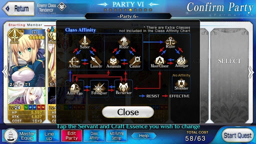 soarta Grand Order arde meșteșug esențial