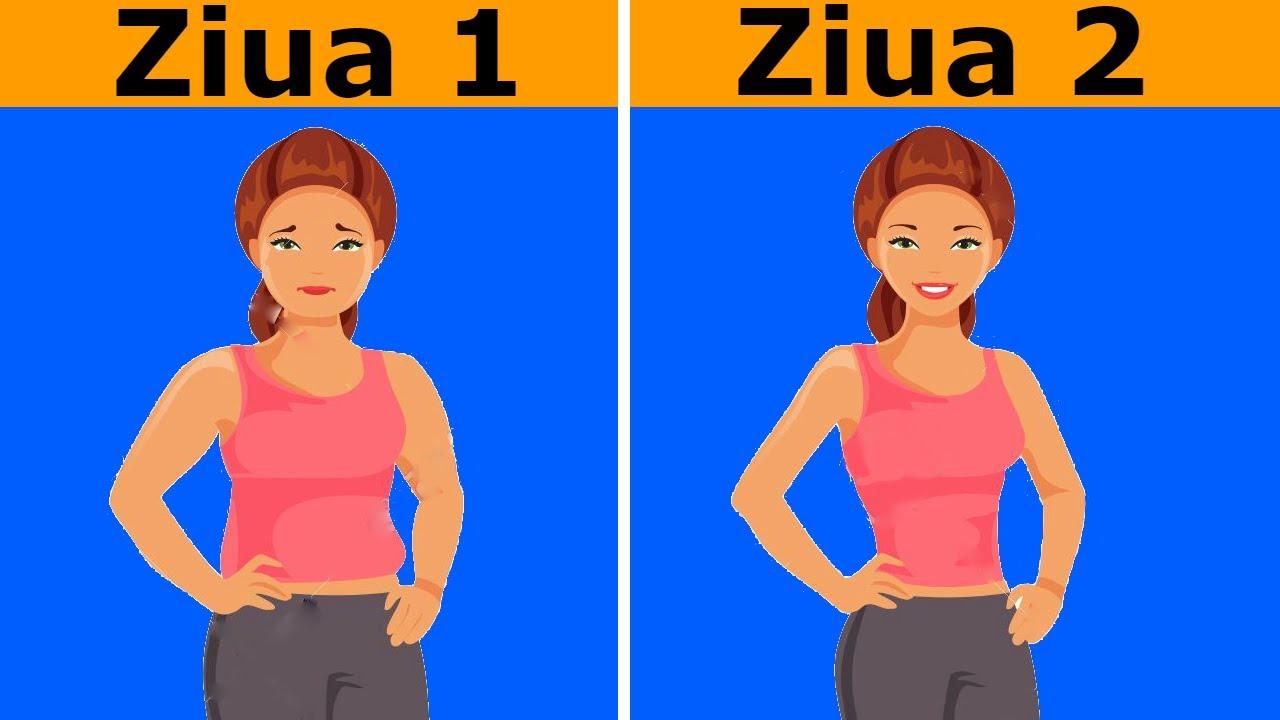 10 moduri simple pentru a slabi 5 kilograme, fara efort