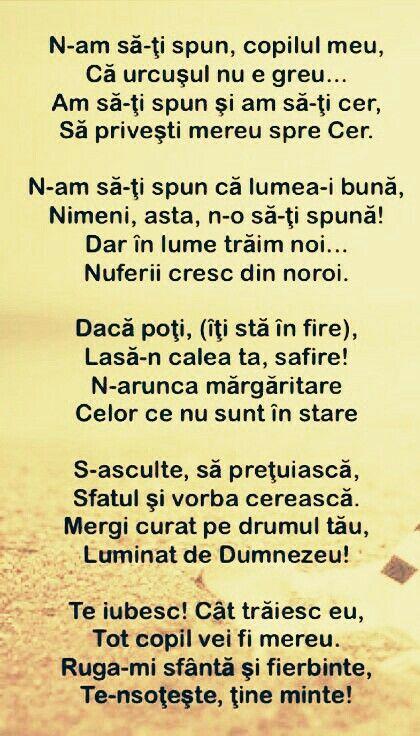 părinții pierderea unui copil poezii