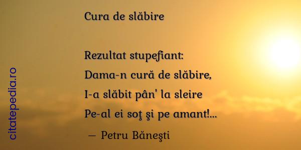 Poezii pentru slăbire