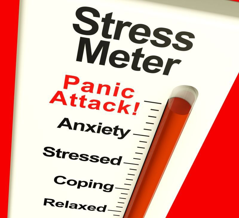 scădere în greutate în atacurile de panică