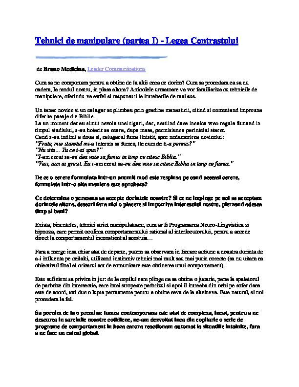 Scrisoare de intentie a consultantului pentru slabire