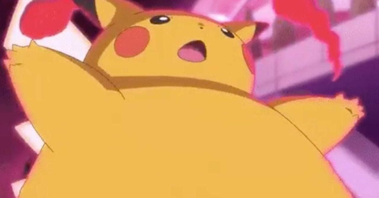 pikachu slim down