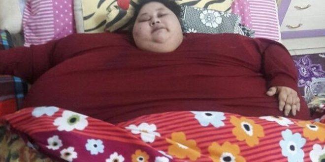 Cea mai grea femeie din lume, care cântărește 500 kg, va fi operată în India