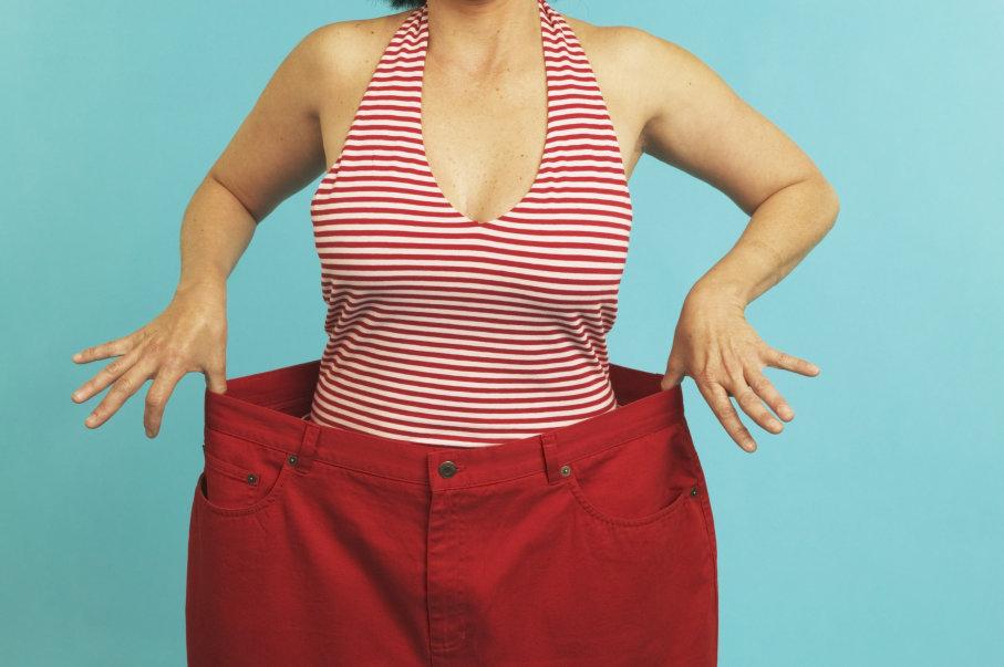 șapte știri pierd în greutate