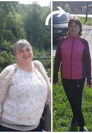 1 lună povești de succes privind pierderea în greutate)