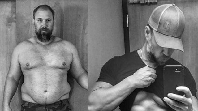 omul de peste 40 de ani nu poate slăbi)