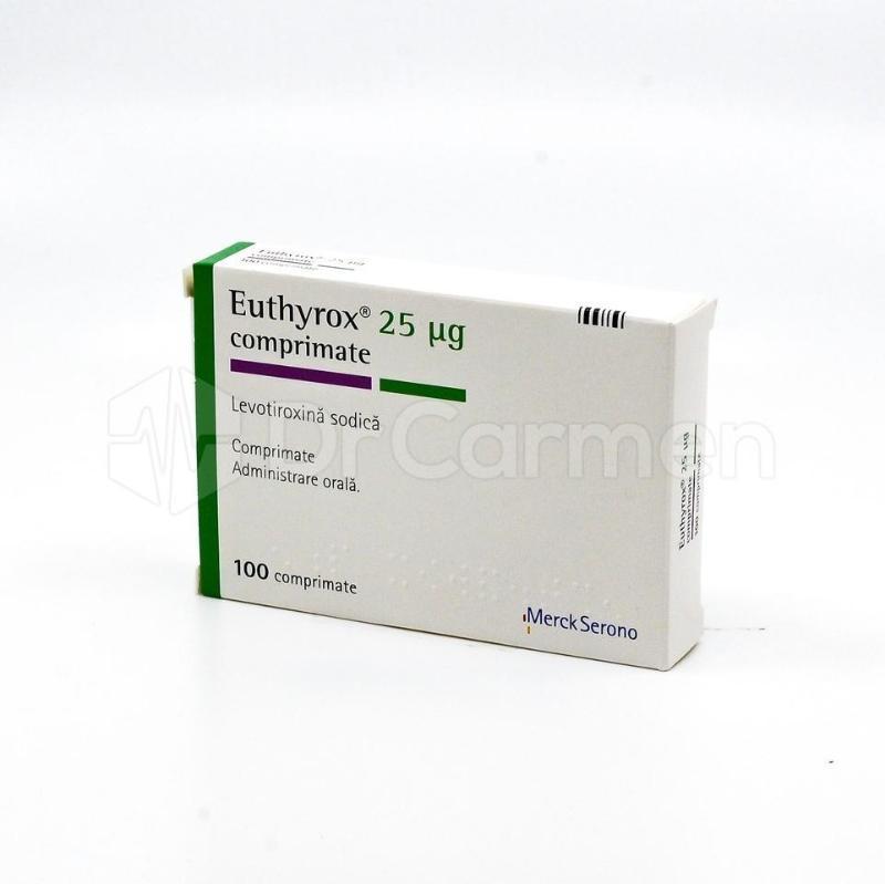 Eutirox pentru scăderea în greutate