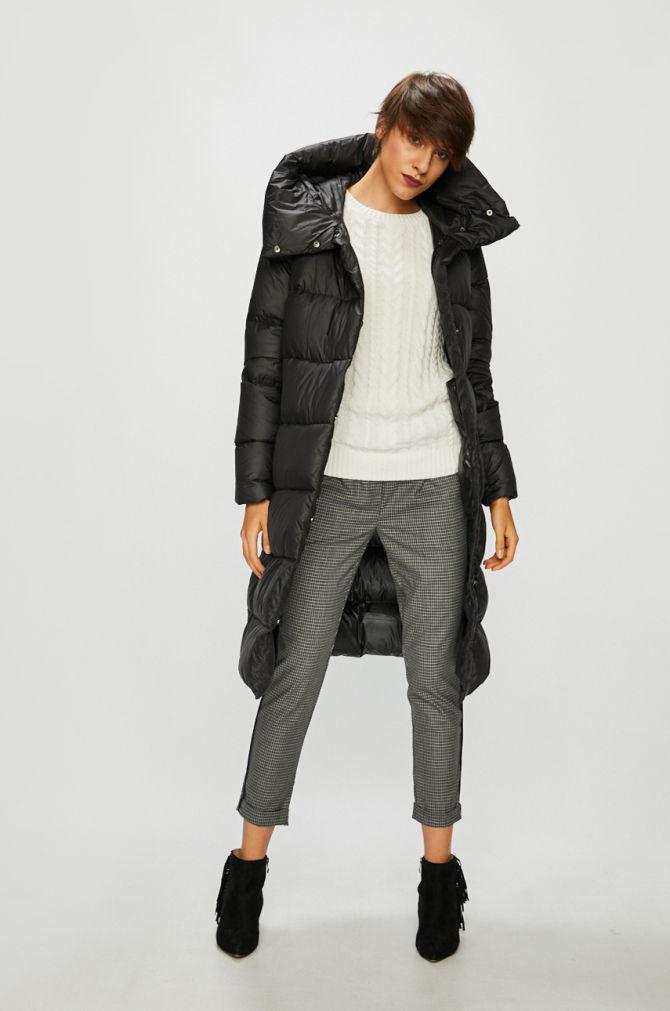 Haină lungă și subțire pentru femei, model elegant, stil vintage, hain – alegsatraiesc.ro
