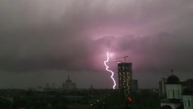 cădere în greutate de furtună)