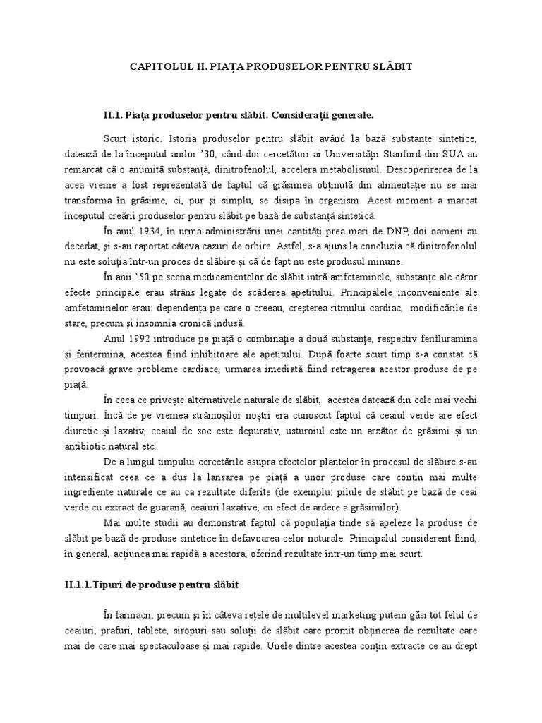 Scrisoare de intentie a consultantului pentru slabire)
