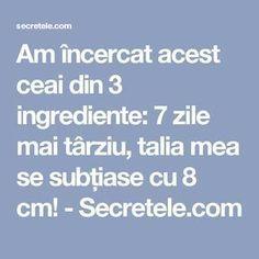cum să slăbești nu centimetri)