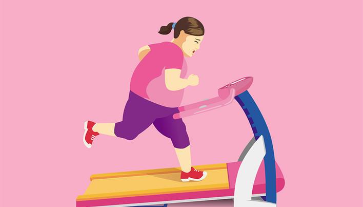 descurajarea pierderii în greutate)