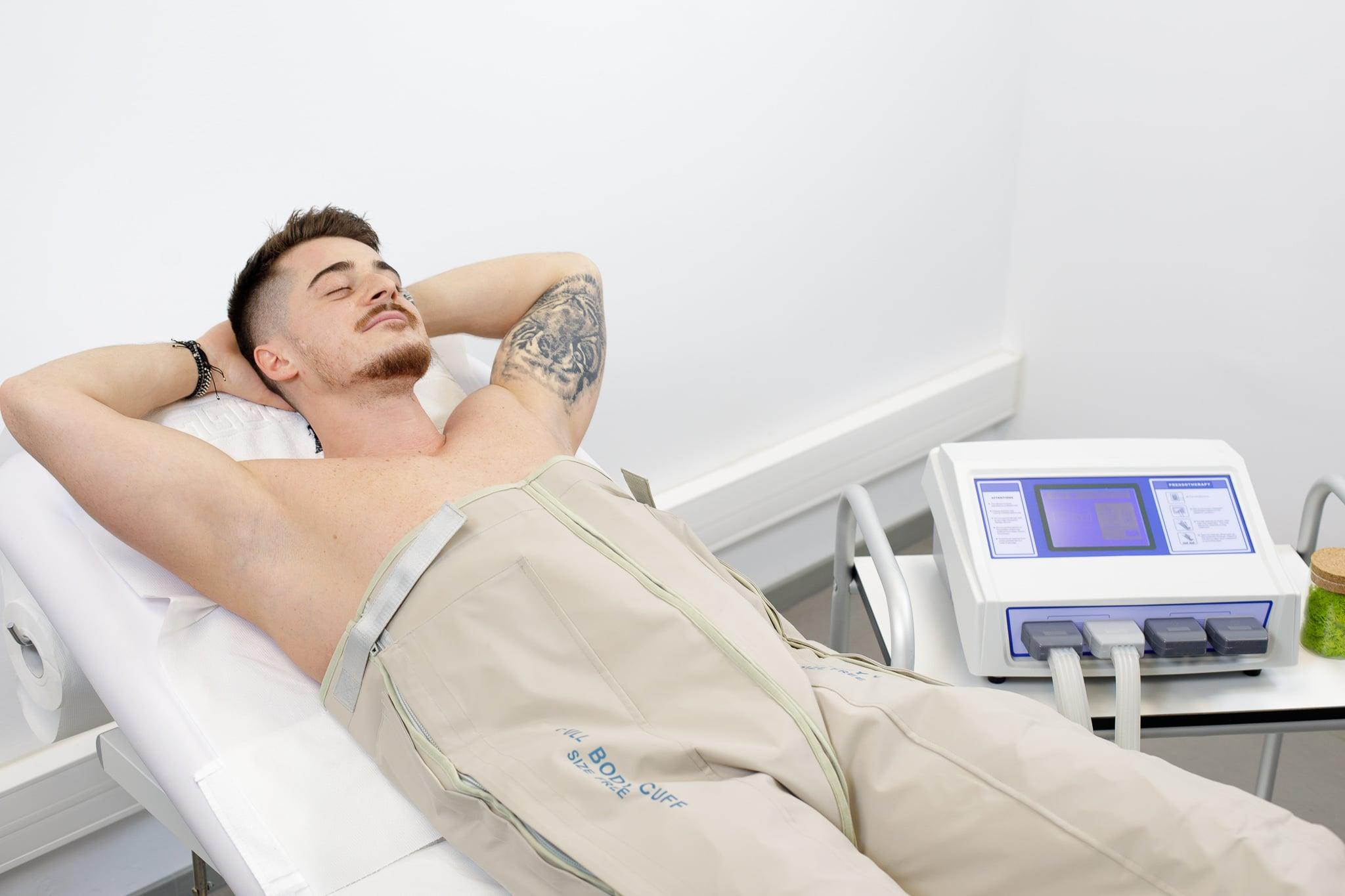 Drenajul limfatic beneficiază de scădere în greutate)