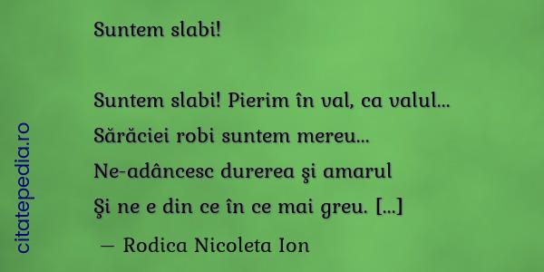 poezii de slabire)