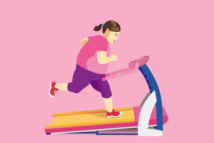 scădere constantă în greutate fără a încerca)