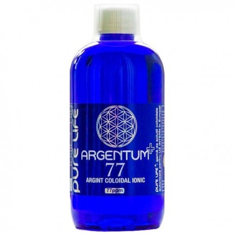 Argint Coloidal Ultra 80 ppm, Aghoras, 500 ml