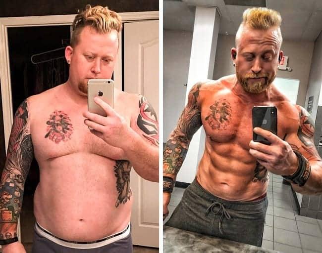 Pierdere în greutate mascul de 17 ani)