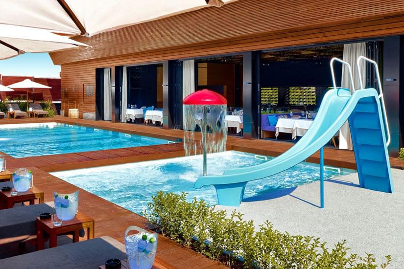 piscina de slabire)