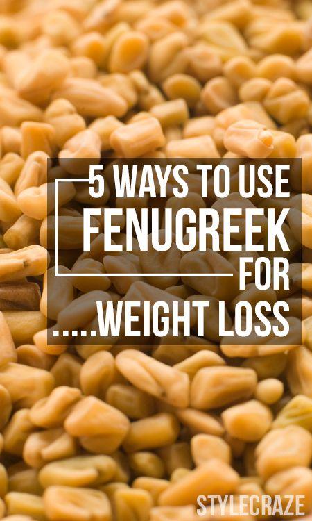 cum să iei fenugreek pentru pierderea în greutate