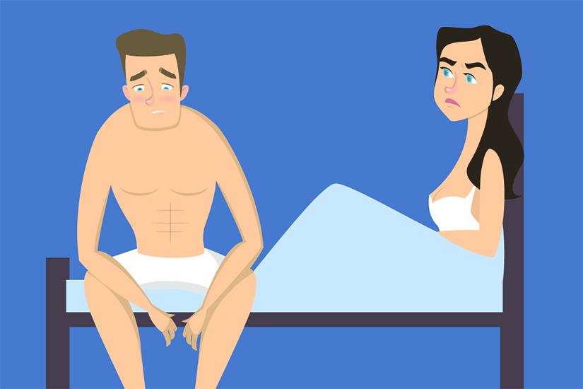 efect pierdere în greutate disfuncție erectilă