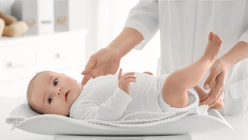 scăderea în greutate a copilului)