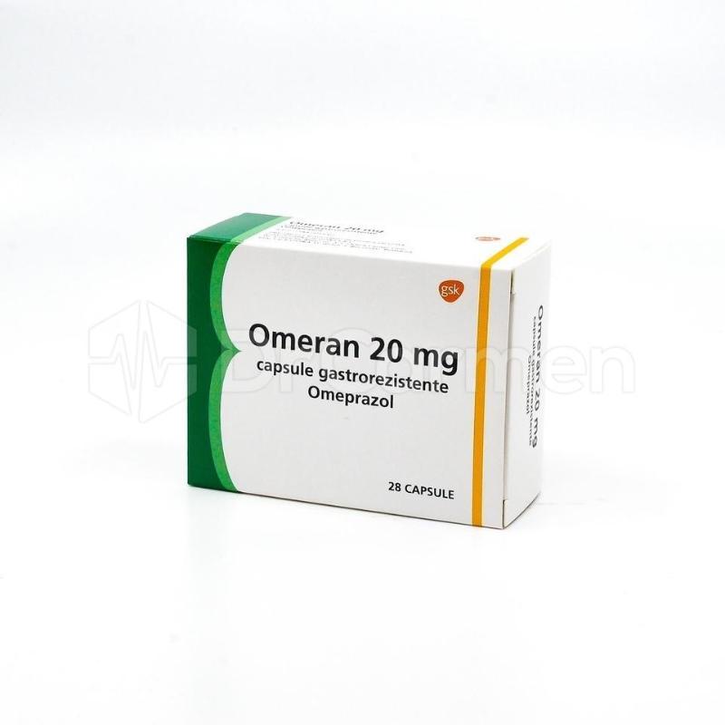 Omeprazol Sandoz 20 mg, capsule gastrorezistente