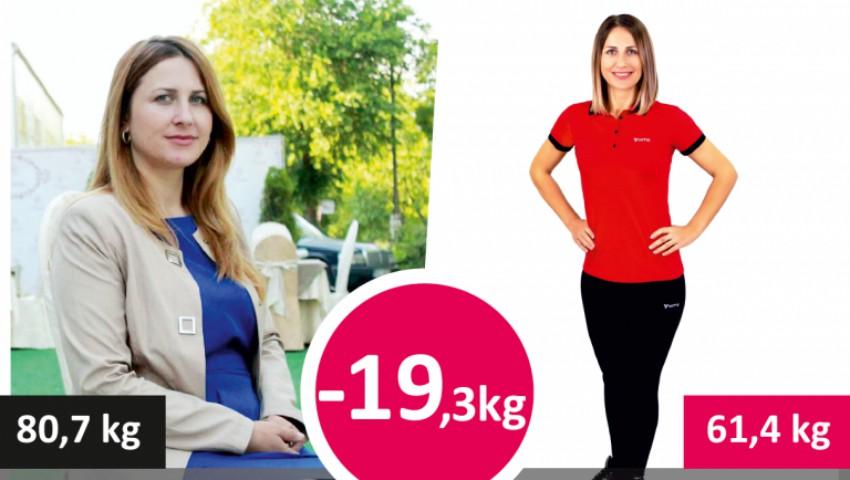 Antrenor personal Elena Trifan: Cum să slăbeşti 20 de kg şi să nu te mai îngraşi nici un gram