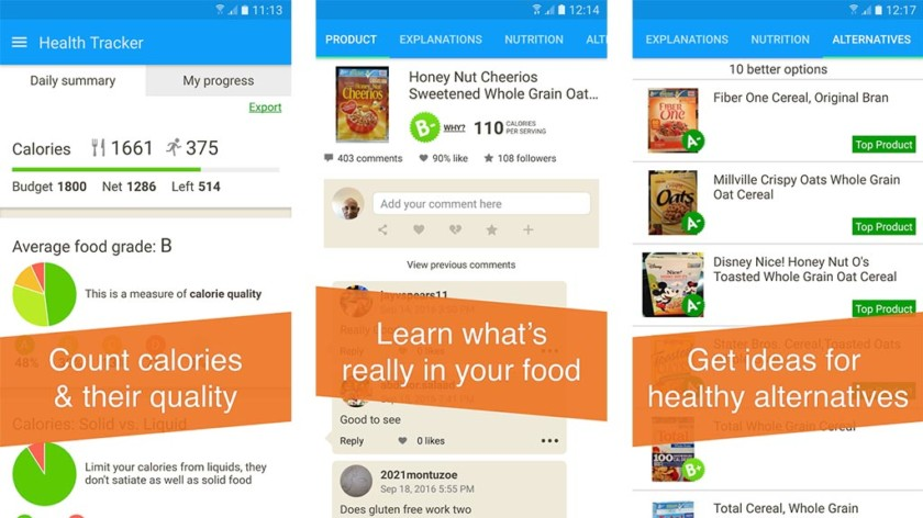cele mai bune aplicații sănătoase de slăbit