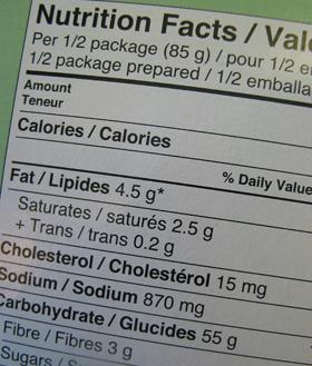 cum să citești etichete pentru a pierde în greutate)