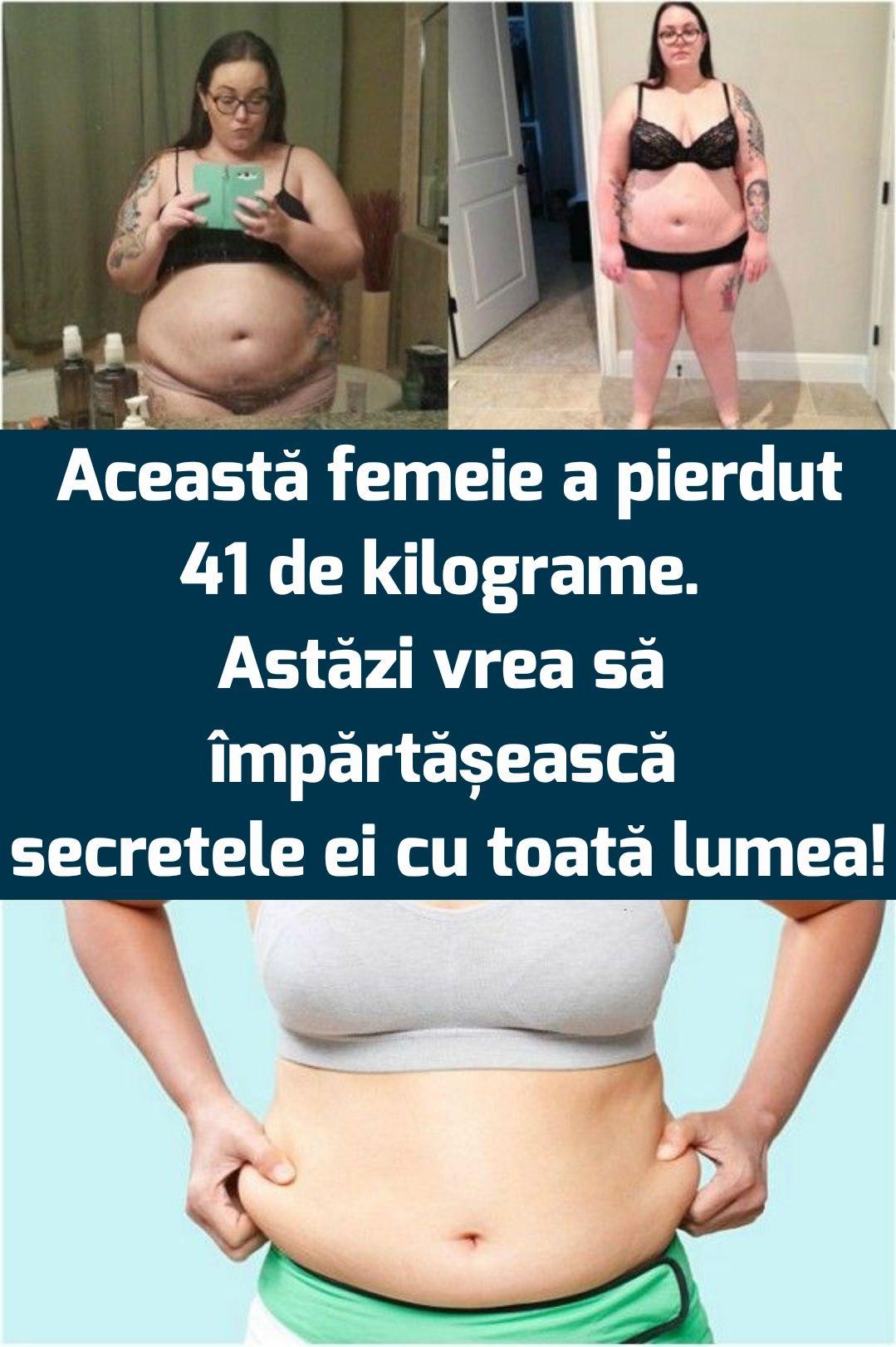 femeia pierde în greutate