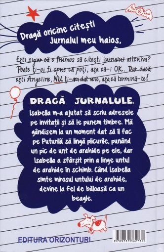 jurnalul meu în greutate