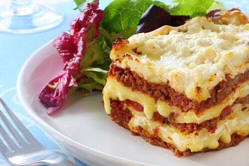lasagna bună pentru pierderea în greutate)