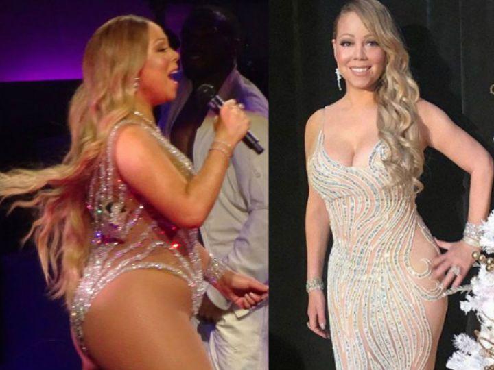 mariah pierde in greutate