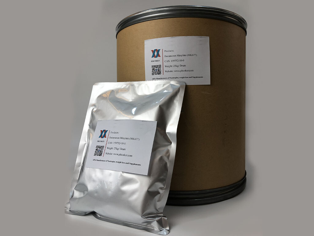 Raw Ibutamoren Mesylate (MK) Powder Manufacturers - Phcoker