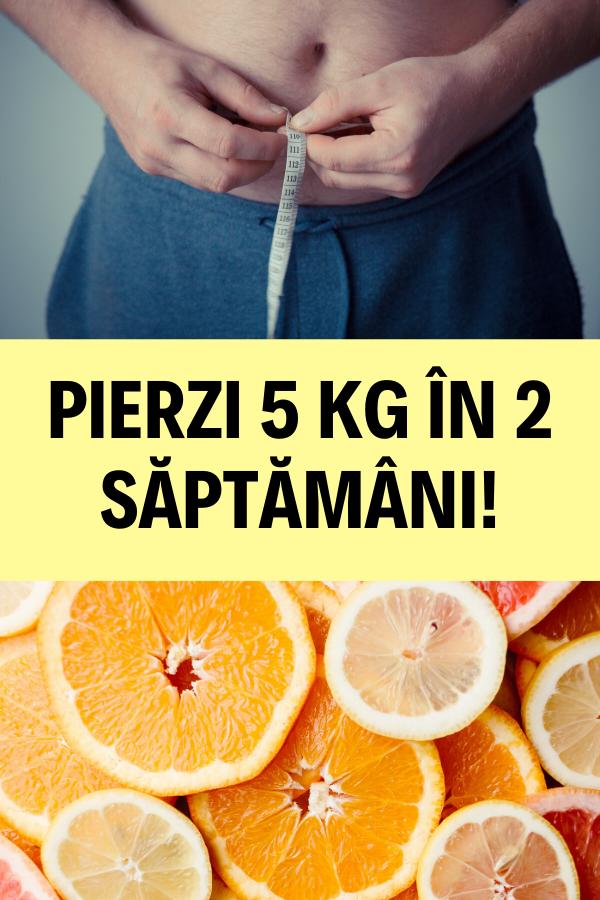 Pierdere în greutate de 5 kg pe săptămână)