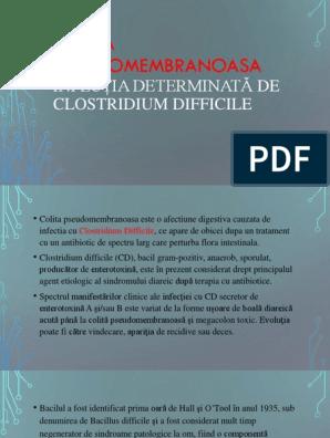 scădere în greutate a colitei clostridium difficile)