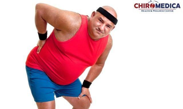 scăderea durerilor de spate și pierderea în greutate)
