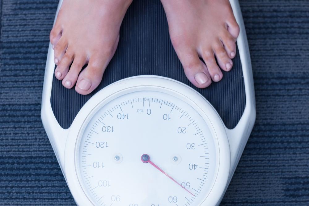 scăderea în greutate se estompează)