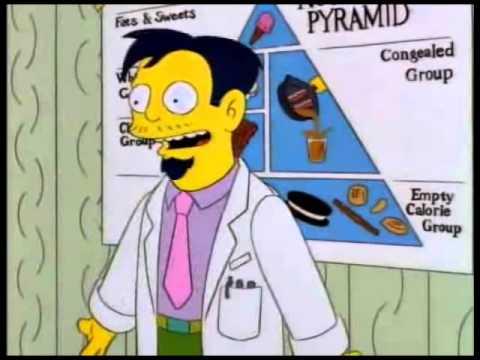 Homer Simpson pierde în greutate)